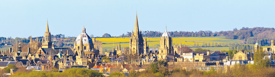 Oxford from Hinksey Hill