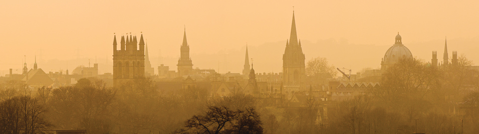 Oxford Mist Panorama