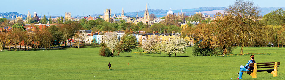 Oxford Spring Panorama